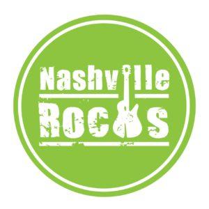 Nashville Rocks Green Circle Logo