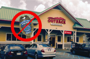 Outback Steakhouse Cleveland Police